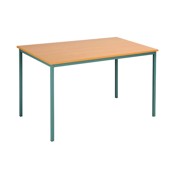 Office Serrion Rectangular Desk 1200mm Bavarian Beech ERECT1200BE