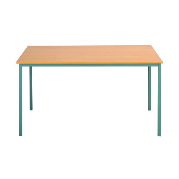 Office Serrion Rectangular Desk 1500mm Bavarian Beech ERECT1500BE