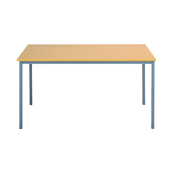 Office Serrion Rectangular Desk 1500mm Ferrera Oak ERECT1500OK