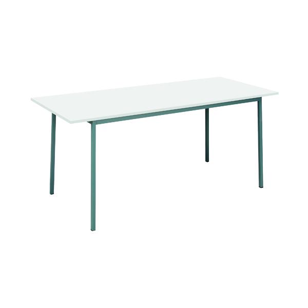 Office Serrion Rectangular Desk 1800mm White ERECT1800WH