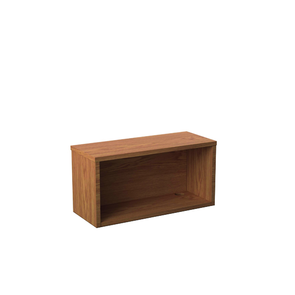 Other Jemini Reception Modular Straight Hutch Unit 800mm Nova Oak RCM800SHUNO