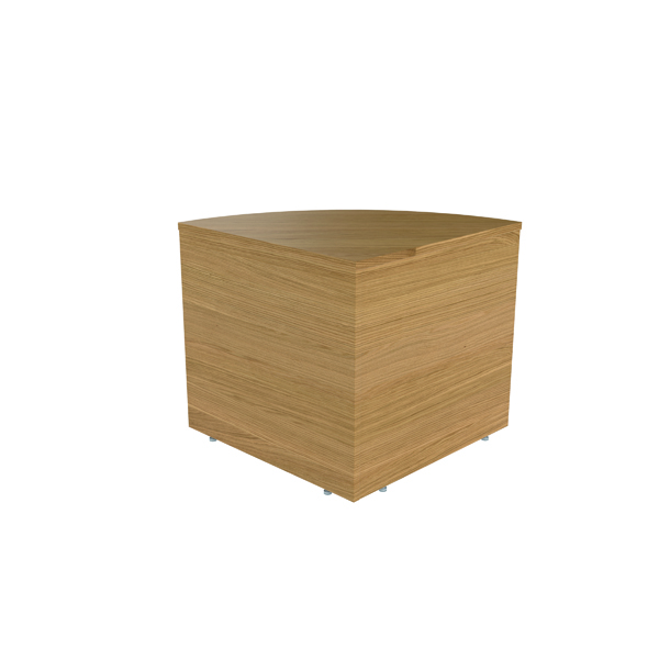 Other Jemini Reception Modular Corner Base Unit Nova Oak RCMCBNO