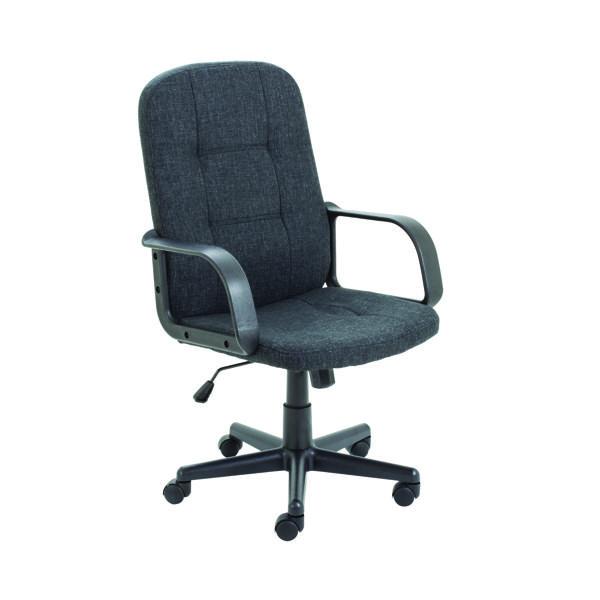 Executive Chairs Jemini Jack 2 Fabric Executive Chair Charcoal KF79889