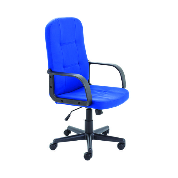 High Back Jemini Jack 2 Fabric Executive Chair Royal Blue KF79890