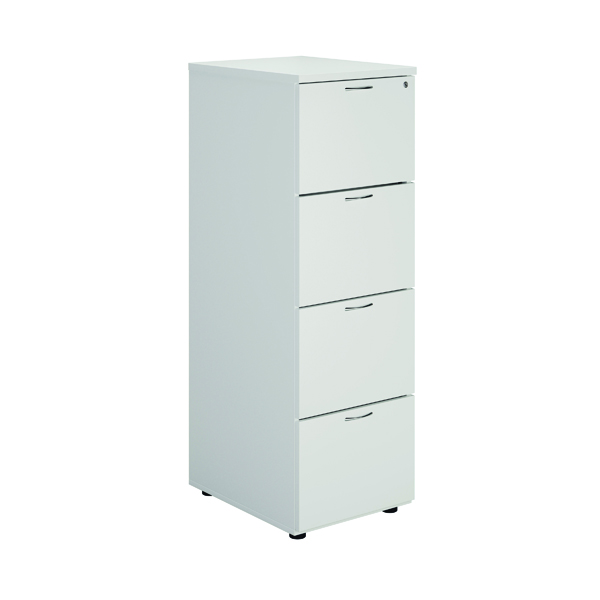Four Drawer First White 4 Drawer Filing Cabinet KF79920