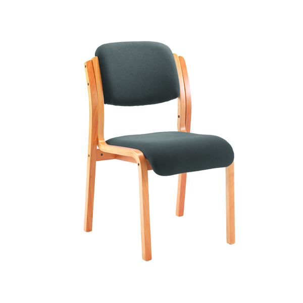 Chairs with Arms First Wooden Frame Side Chair with Arms Charcoal CH0706CH