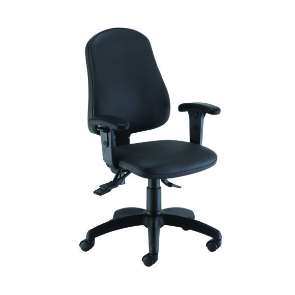 With Arms Jemini Intro Posture Chair with Arms Polyurethene CH2810PU+AC1040