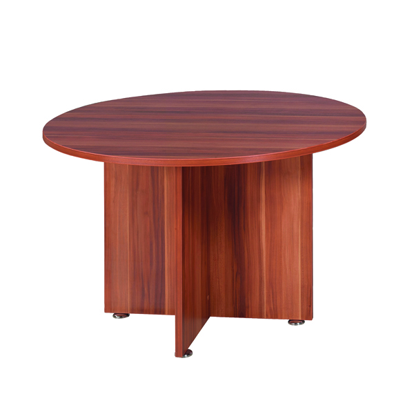 Office Avior Cherry 1200mm Round Meeting Table KF838267