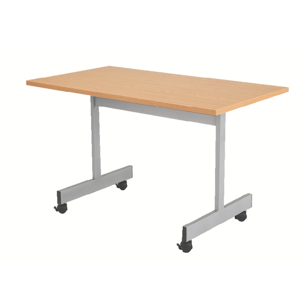 Folding Jemini Oak 1200mm Flip Top Table KF838320