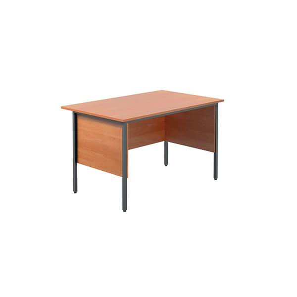 Unspecified Serrion Bavarian Beech 1200mm Four Leg Desk KF838367