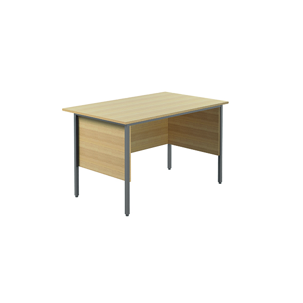 Unspecified Serrion Ferrera Oak 1200mm Four Leg Desk KF838368