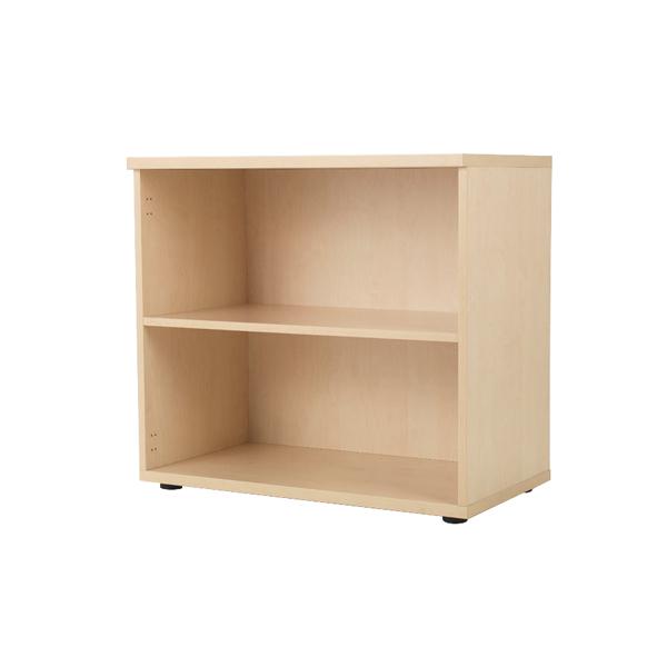 Jemini Maple 1 Shelf 730mm Bookcase KF838420
