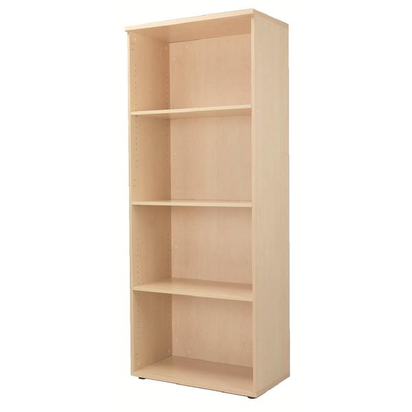 Jemini Maple 2000mm Bookcase 4 Shelf KF838423
