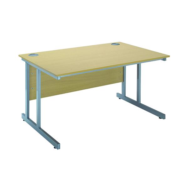 Rectangular Serrion Ferrera Oak 1200mm Rectangular Cantilever Desk KF838515