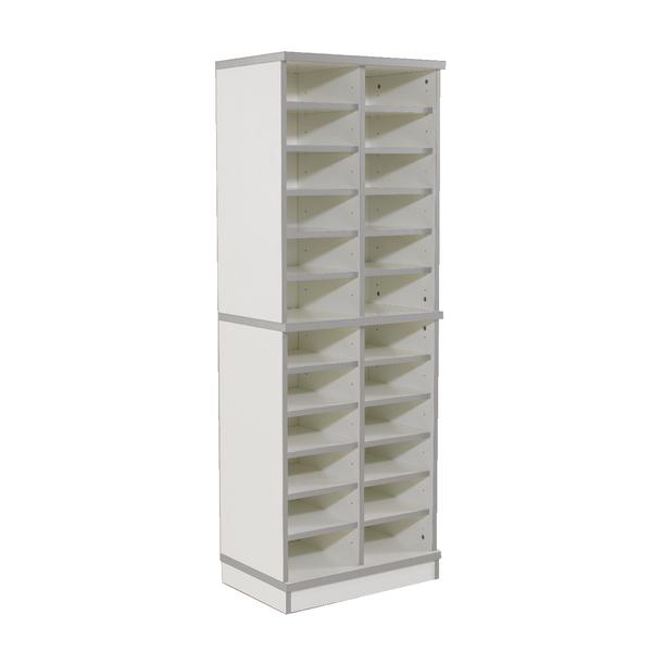 Jemini White Double Sorter Unit Extension Kit KF838547