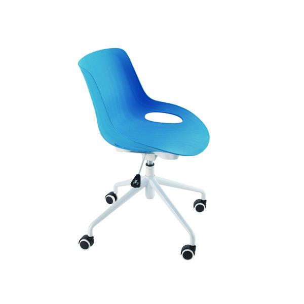 Unspecified Jemini Soho Swivel Blue Chair KF838763