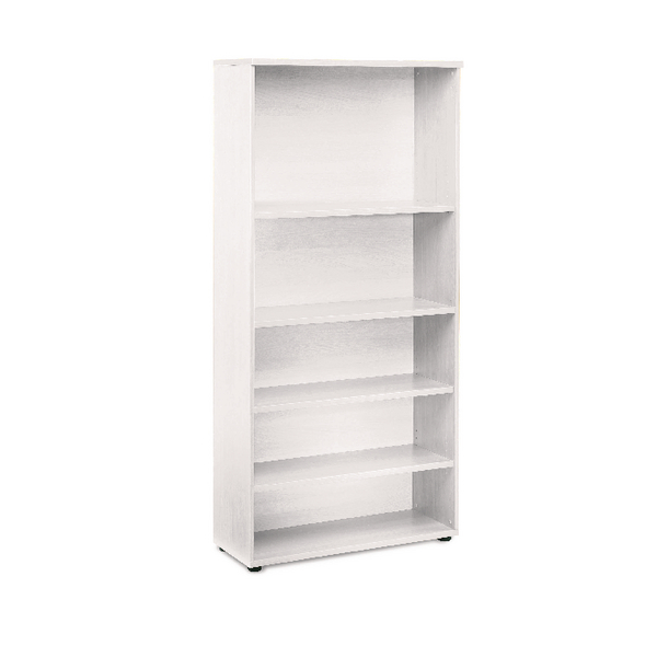 H over 1200mm First 1800mm Bookcase White KF839212