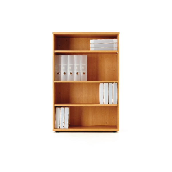 H up to 1200mm First 1200mm Bookcase Beech KF839214