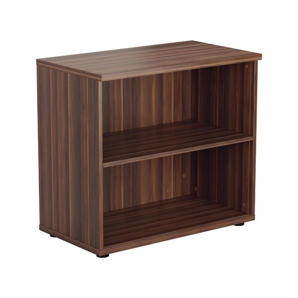 Jemini Walnut 730mm 1 Shelf Bookcase KF840145