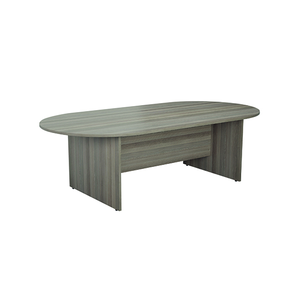 Boardroom Jemini 2400mm Meeting Table Grey Oak KF840160