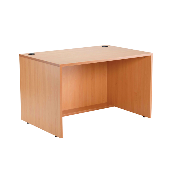 Jemini 1200 Modular Straight Base Unit Beech 1200MASABE
