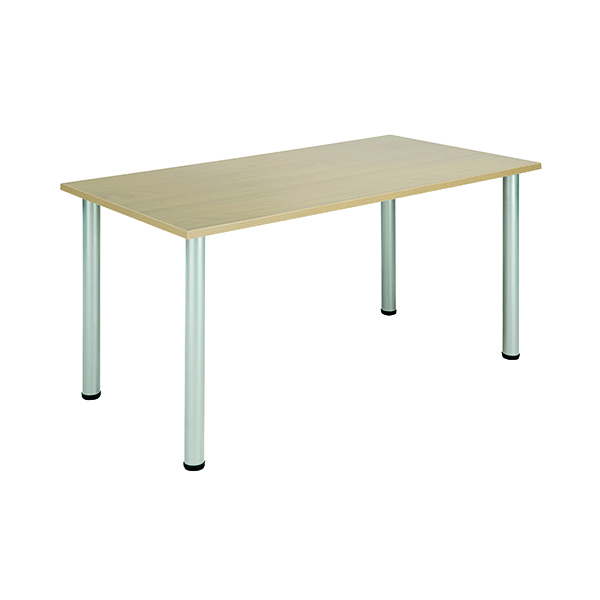 Jemini Maple 1200x800mm Rectangular Meeting Table KF840180