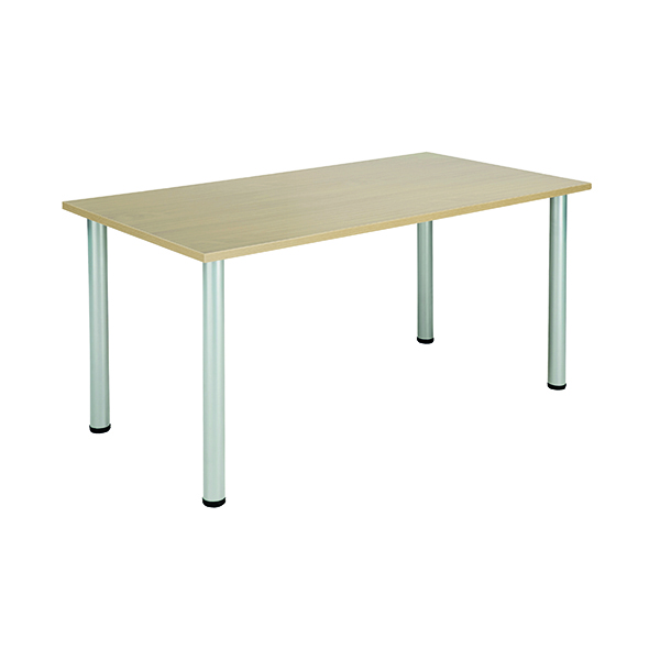 Unspecified Jemini Maple 1600x800mm Rectangular Meeting Table KF840181