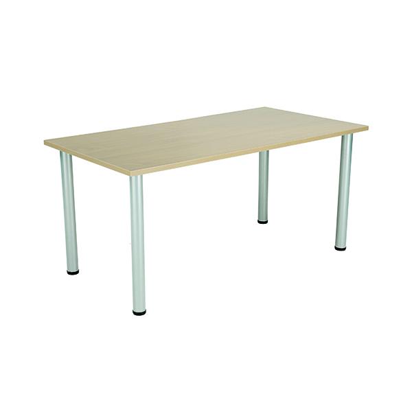 Jemini Maple 1800x800mm Rectangular Meeting Table KF840182
