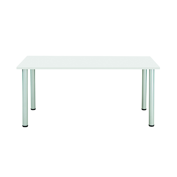 Unspecified Jemini White 1200x800mm Rectangular Meeting Table KF840185