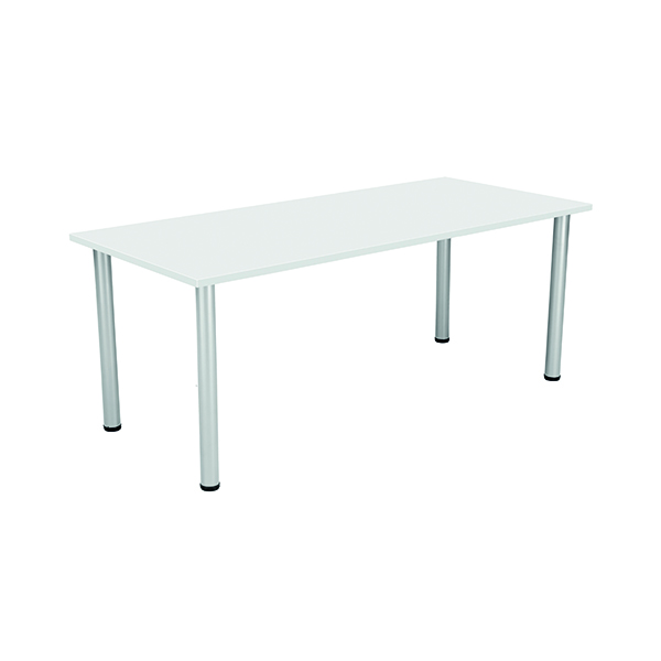 Unspecified Jemini White 1800x800mm Rectangular Meeting Table KF840187