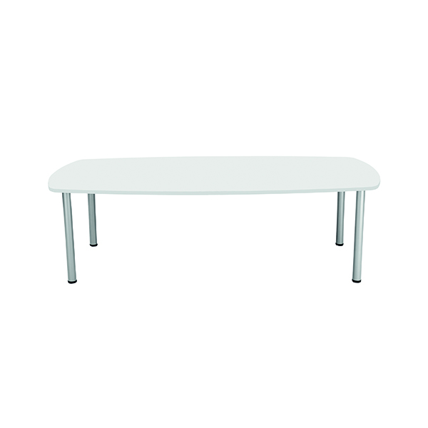 Boardroom Jemini White 1800mm Boardroom Table KF840189