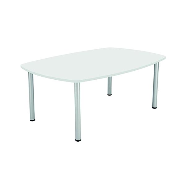 Jemini White 1800mm Boardroom Table KF840189
