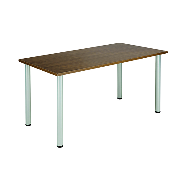 Unspecified Jemini Walnut 1600x800mm Rectangular Meeting Table KF840191