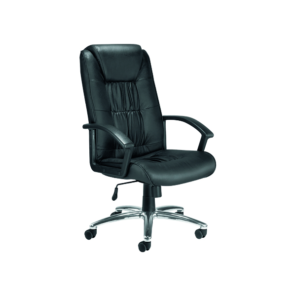 Reception Chairs FF First Tiber Executive Leather Chair FRKF74003