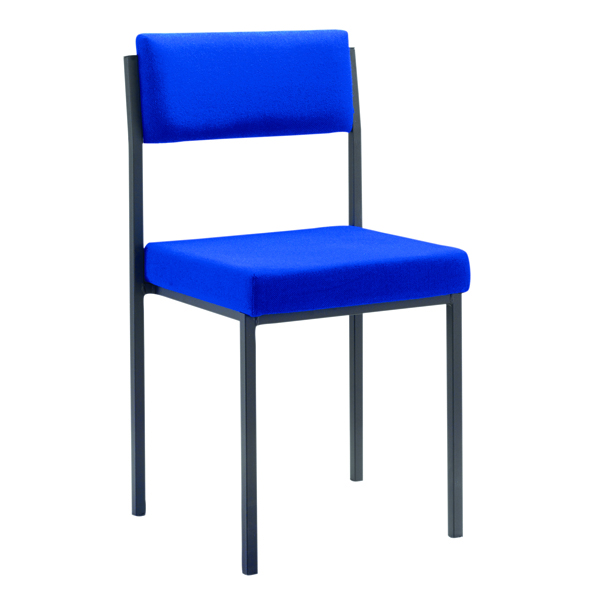 Unspecified FF First Stacking Chair Royal Blue FRKF04002