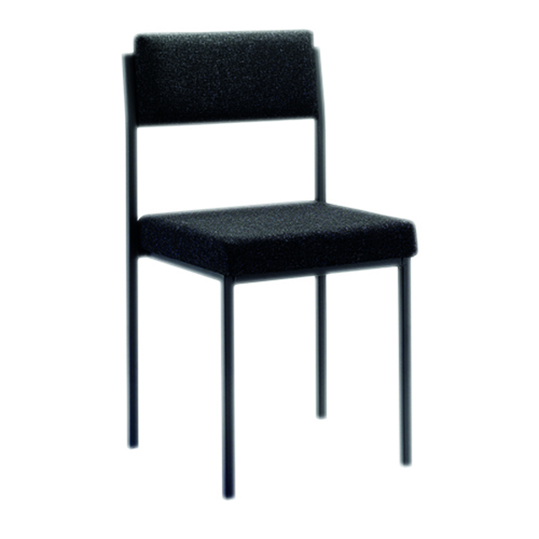 Unspecified FF First Stacking Chair Charcoal FRKF04000