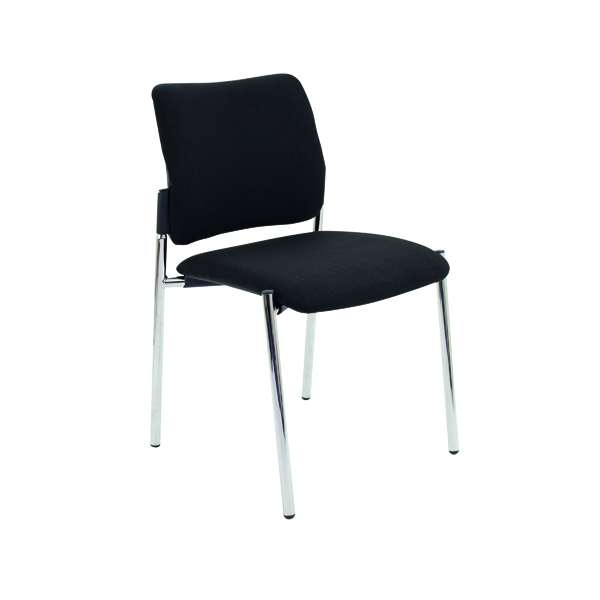Unspecified FF First Verona Fabric Side Chair Chrome Frame CH3511BK