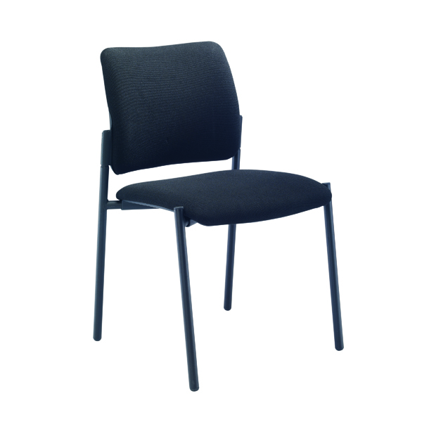 Unspecified FF First Verona Fabric Side Chair Black Frame CH3510BK