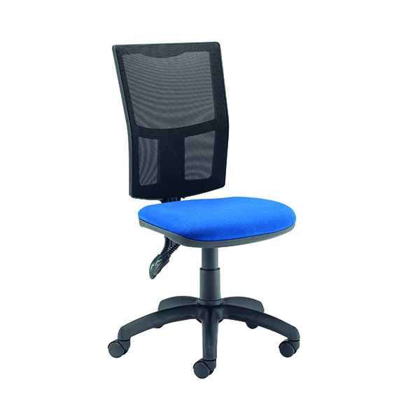 Unspecified FF First Medway Mesh High Back Operator Chair Blue CH2803TC4RB