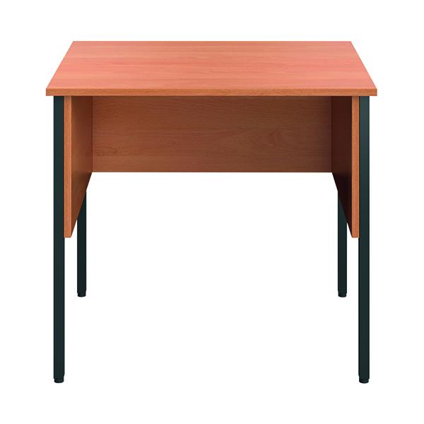 Rectangular Eco Midi Homework Desk 800x600mm Beech ECMHD8060BE