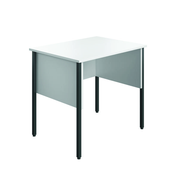 Rectangular Eco Midi Homework Desk 800x600mm White ECMHD8060WH