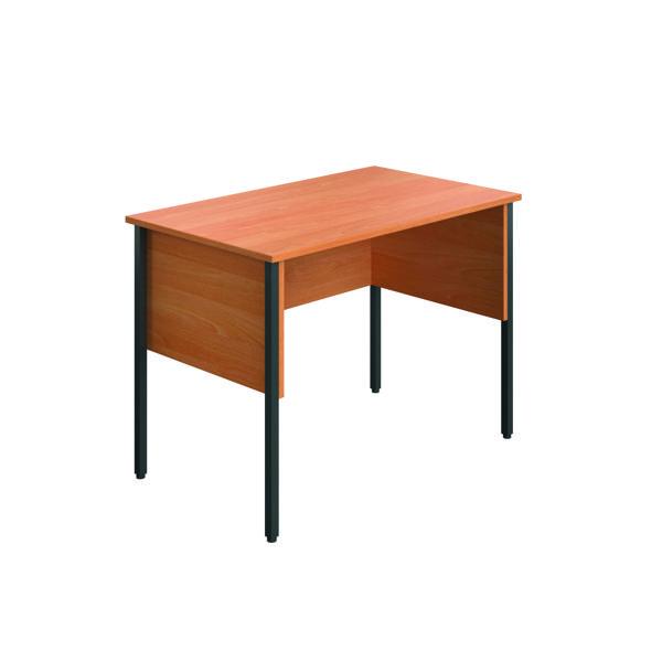 Rectangular Eco Midi Homework Desk 1000x600mm Beech ECMHD1060BE