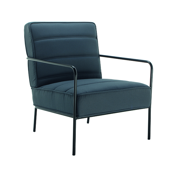 Other Jemini Reception Wire Frame Armchair Grey OF0704GR