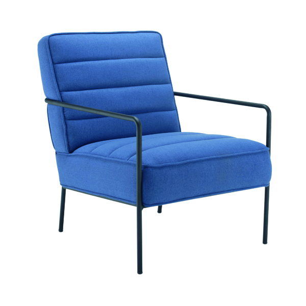 Other Jemini Reception Wire Frame Armchair Navy OF0704NA