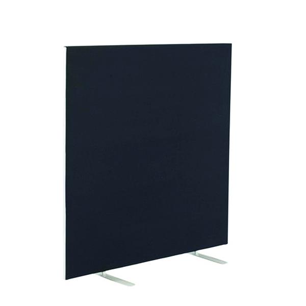 Floor Standing Jemini Floor Standing Screen 1400 x 1200mm Black FST1412SBK
