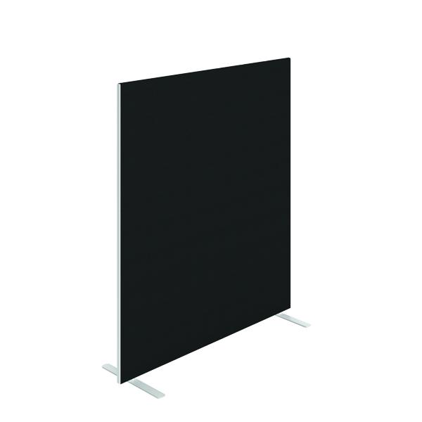 Floor Standing Jemini Floor Standing Screen 1400 x 1600mm Black FST1416SBK