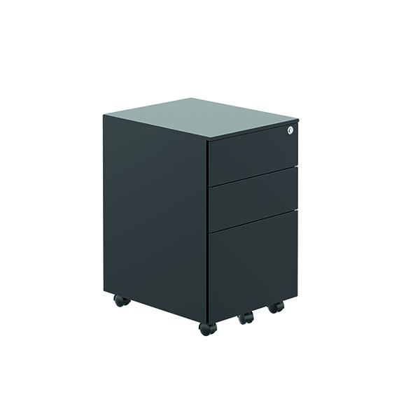 Unspecified Jemini Contract Steel Pedestal Black TKUSMP3BK