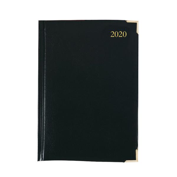 Executive Diary A5 Day Per Page 2020 Black KFEA51BK20