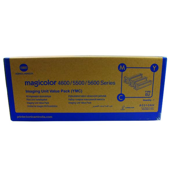 MultiColour Konica Minolta CMYK Magicolor 5500 Toner (3 Pack) A0310NH