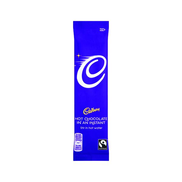 Cadbury Instant Hot Chocolate Sachets 28g (50 Pack) 915654